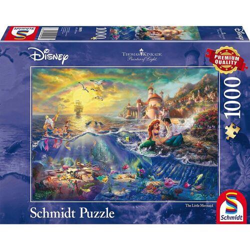 Schmidt Spiele Puzzle »Puzzle 1000 Teile Thomas Kinkade Disney Arielle«, Puzzleteile