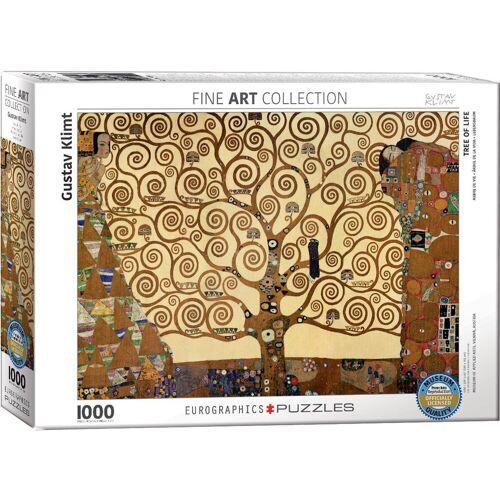 empireposter Puzzle »Gustav Klimt - Der Baum des Lebens - 1000 Teile Puzzle Format 68x48 cm.«, 1000 Puzzleteile