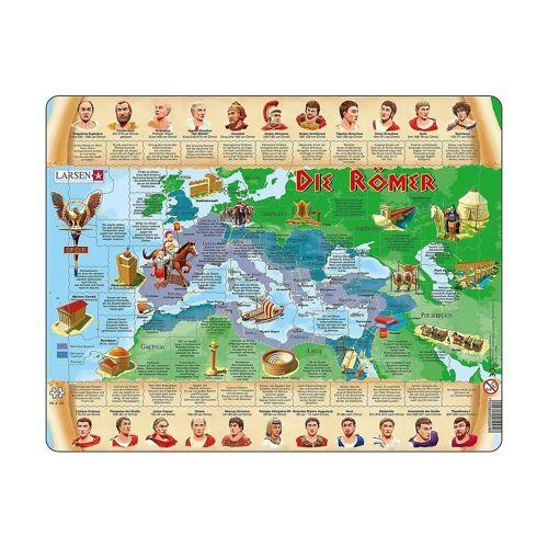 Larsen Puzzle »Rahmen-Puzzle, 110 Teile, 36x28 cm, Die Römer«, Puzzleteile