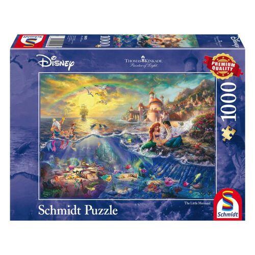 Schmidt Spiele Puzzle »Disney Kleine Meerjungfrau, Arielle«, 1000 Puzzleteile