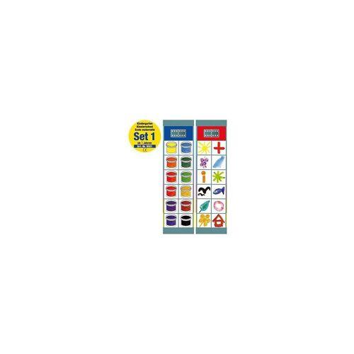 Magnetspiele Lernspielzeug »Flocards Set 1: Kindergarten ab 3 Jahre«