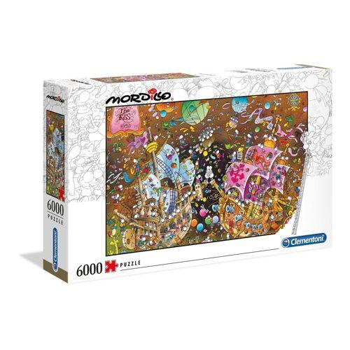 Clementoni® Puzzle »Der Kuss - Mordillo Collection«, 6000 Puzzleteile