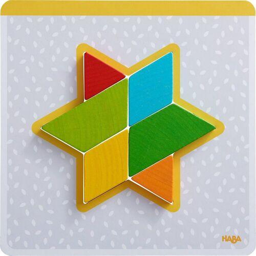 Haba Puzzle »Holzpuzzle Bunte Formen«, Puzzleteile