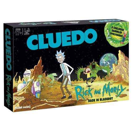 Winning Moves Spiel, Brettspiel »Cluedo Rick and Morty«