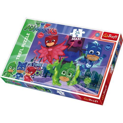 Trefl Puzzle »Maxi Puzzle 24 Teile - PJ Masks«, Puzzleteile