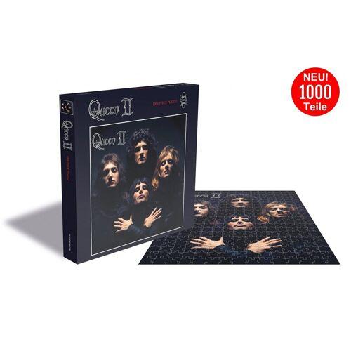 empireposter Puzzle »Queen Queen II - 1000 Teile LP Cover Puzzle im Format 57x57 cm«, 1000 Puzzleteile