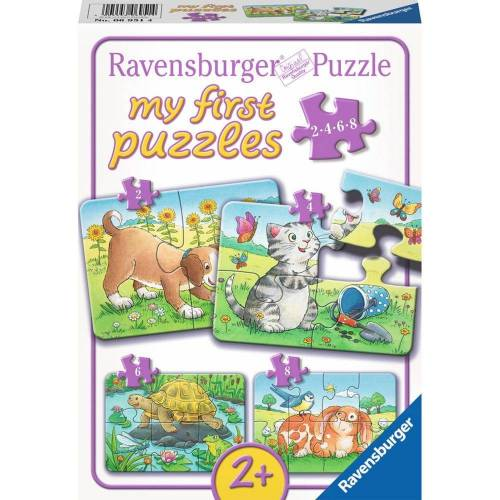 Ravensburger Puzzle »Niedliche Haustiere - My First Puzzles«, 20 Puzzleteile