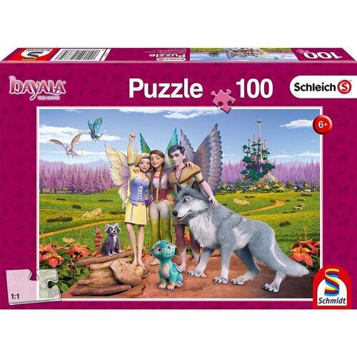 Schmidt Spiele Puzzle »Land der Elfen und Drachen, 100 Teile«, Puzzleteile