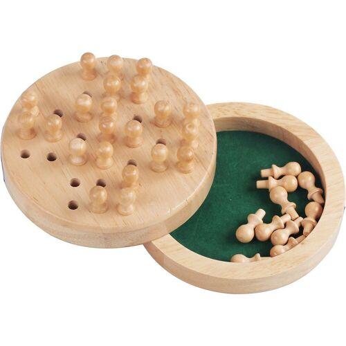 Natural Games Spiel, »Solitaire aus Holz, 12 cm«