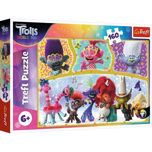 Trefl Puzzle »Puzzle The happy world of Trolls, 160 Teile«, Puzzleteile