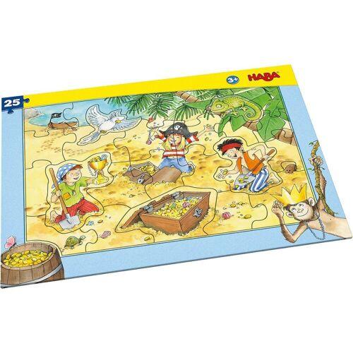 Haba Puzzle »303707 Rahmenpuzzle 25 Teile - Piratengold«, Puzzleteile
