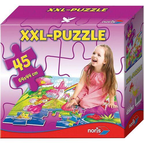 Noris Puzzle »Bodenpuzzle Feenwelt 45 Teile«, Puzzleteile