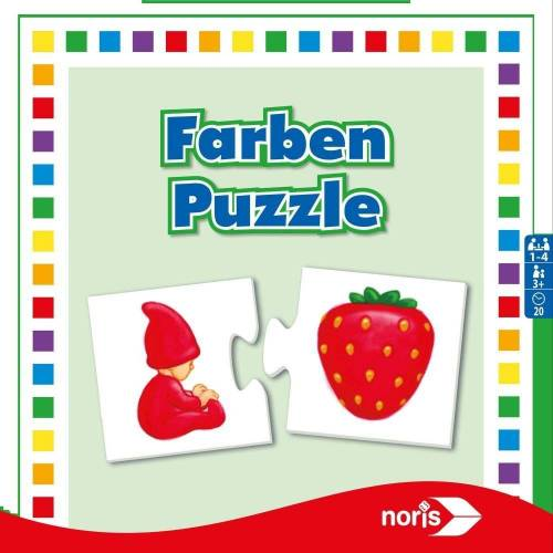 Noris Puzzle »Farben ab 3 Jahren«, 24 Puzzleteile