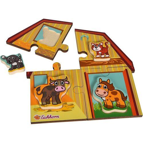 Eichhorn Steckpuzzle »2 Level Puzzle«, Puzzleteile