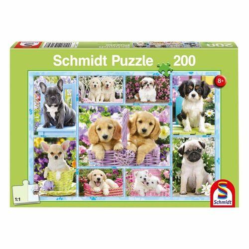 Schmidt Spiele Puzzle »Welpen«, 200 Puzzleteile