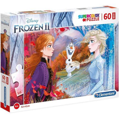 Clementoni® Puzzle »Puzzle 60 Teile Maxi Die Eiskönigin 2«, Puzzleteile