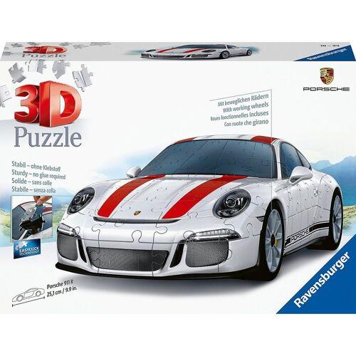 Ravensburger 3D-Puzzle »3D-Puzzle, B25 cm, 108 Teile, Porsche 911 R«, Puzzleteile