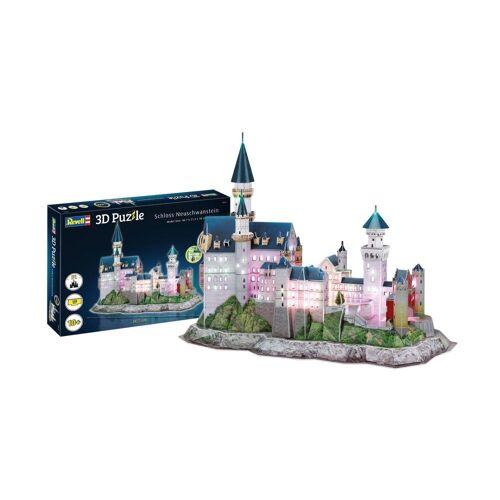 Revell® 3D-Puzzle »Schloss Neuschwanstein 00151«, 128 Puzzleteile