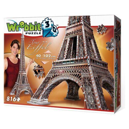 Wrebbit 3D-Puzzle »3D Puzzle 816 Teile Eiffelturm«, Puzzleteile
