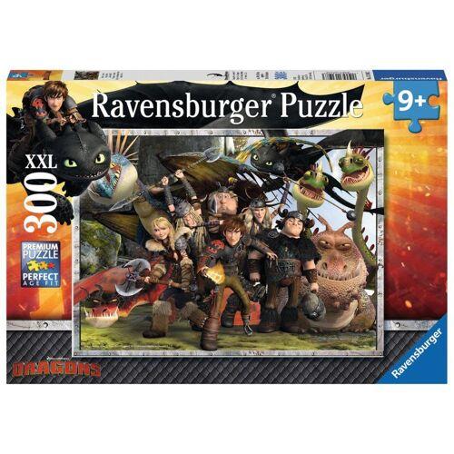 Ravensburger Puzzle »Dragons: Treue Freunde«, 300 Puzzleteile