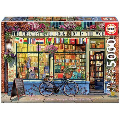 Educa Puzzle »GREATEST BOOKSHOP IN THE WORLD«, 5000 Puzzleteile