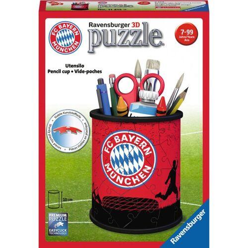 Ravensburger 3D-Puzzle »Organizer Utensilo FC Bayern München«, 54 Puzzleteile