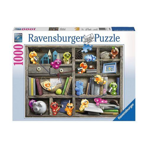 Ravensburger Puzzle »Puzzle 1000 Teile, 70x50 cm, Gelini im Bücherregal«, Puzzleteile