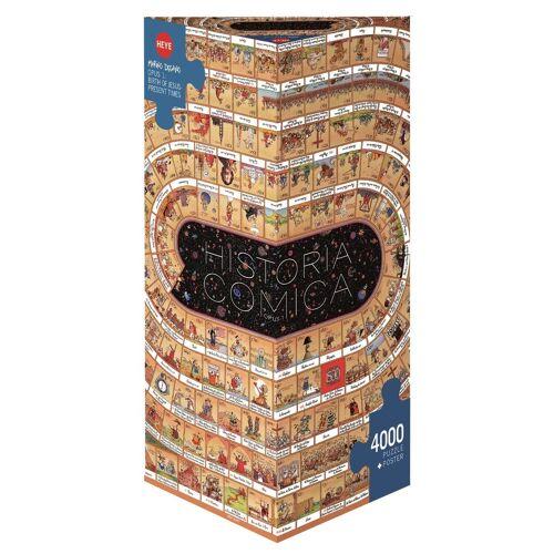 HEYE Puzzle »Historia Comica 1«, 4000 Puzzleteile