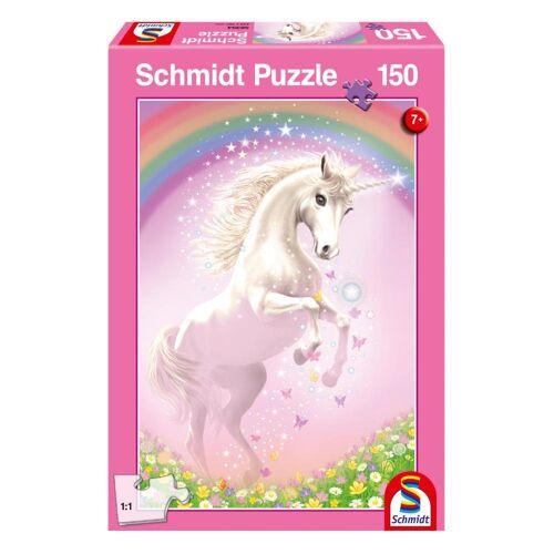 Schmidt Spiele Puzzle »Rosa Einhorn«, 150 Puzzleteile