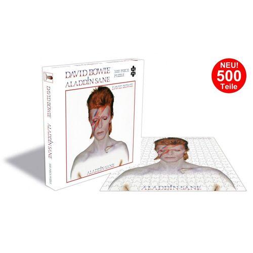 empireposter Puzzle »David Bowie Aladdin Sane - 500 Teile LP Cover Puzzle im Format 39x39 cm«, 500 Puzzleteile