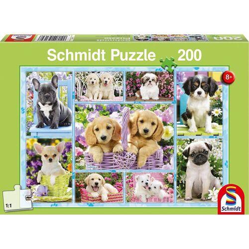 Schmidt Spiele Puzzle »Puzzle Welpen, 200 Teile«, Puzzleteile