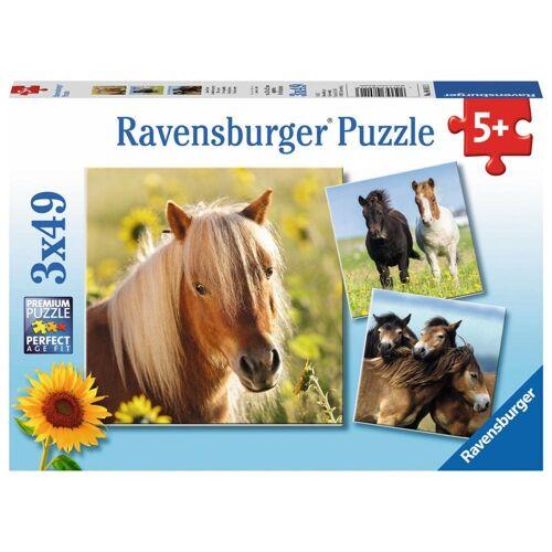 Ravensburger Puzzle »Liebe Pferde«, 147 Puzzleteile