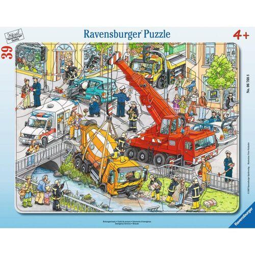 Ravensburger Rahmenpuzzle »Rettungseinsatz - Rahmenpuzzle«, 39 Puzzleteile