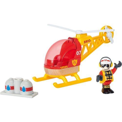 Brio Spielzeug-Eisenbahn »Feuerwehr-Hubschrauber«