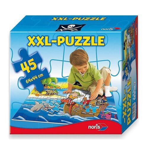 Noris Puzzle »Bodenpuzzle Piraten - 45 Teile«, Puzzleteile