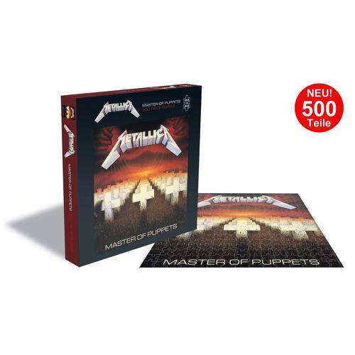 empireposter Puzzle »Metallica Master Of Puppets - 500 Teile LP Cover Puzzle im Format 39x39 cm«, 500 Puzzleteile