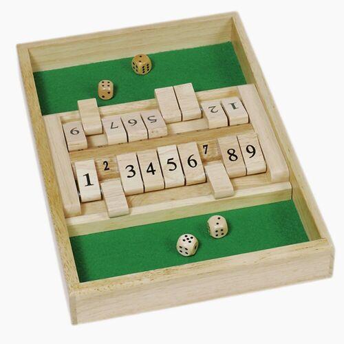 goki Spiel, Shut the box »Shut the box Doppelspiel«, Doppelspiel Shut the box