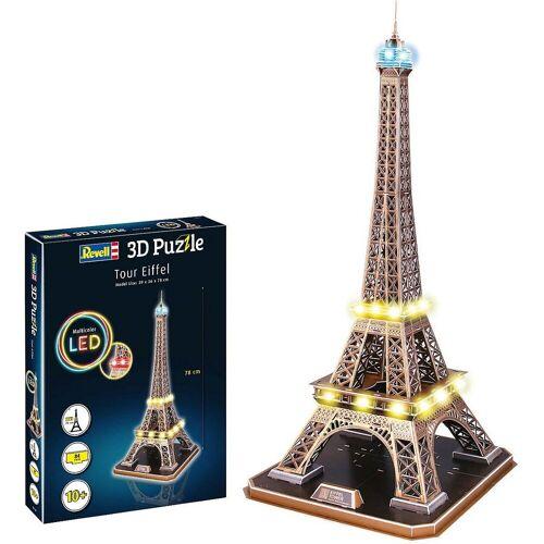 Revell® 3D-Puzzle »3D-Puzzle Eiffelturm - LED Edition«, Puzzleteile