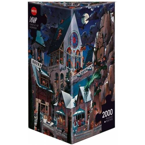 HEYE Puzzle »Castle of Horror, Loup«, 2000 Puzzleteile