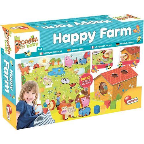 Lisciani Lernspielzeug »Happy Farm«