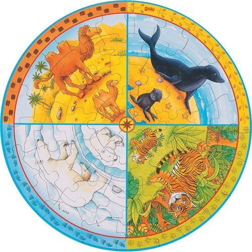 goki Puzzle »XL Puzzle Tiere«, Puzzleteile