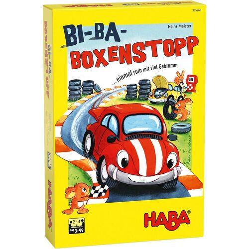 Haba Spiel, »Bi-Ba-Boxenstopp«