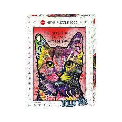 HEYE Puzzle »Puzzle 1000 Teile - Jolly Pets - Katze«, Puzzleteile