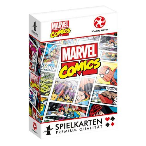 Winning Moves Spiel, Kartenspiel »Number 1 Spielkarten Marvel Retro«, inkl. 2 Joker