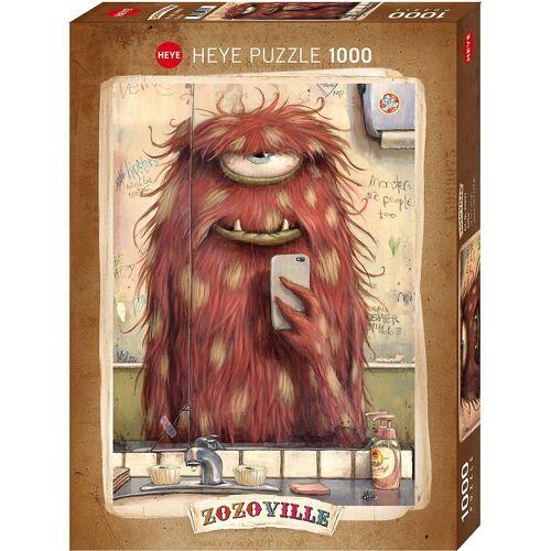 HEYE Puzzle »Puzzle Selfie, 1000 Teile«, Puzzleteile