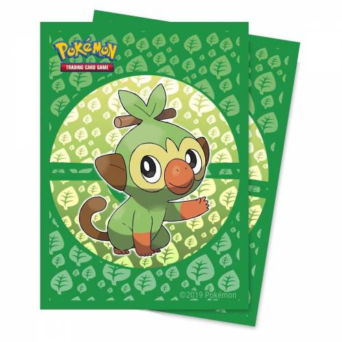 POKÉMON Sammelkarte »Pokémon Sammelkartenspiel - CHIMPEP - Standard Kartenhüllen - 65 Stück«