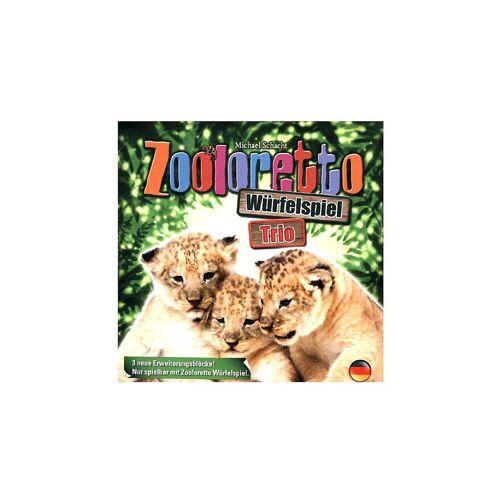 ABACUSSPIELE Spiel, »Zooloretto Würfelspiel Trio (Spiel-Zubehör)«