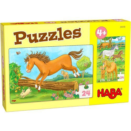 Haba Puzzle »Puzzles Pferde«, Puzzleteile