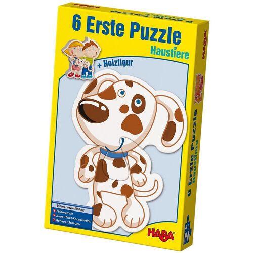 Haba Puzzle »3902 6 Erste Puzzle - Haustiere«, Puzzleteile