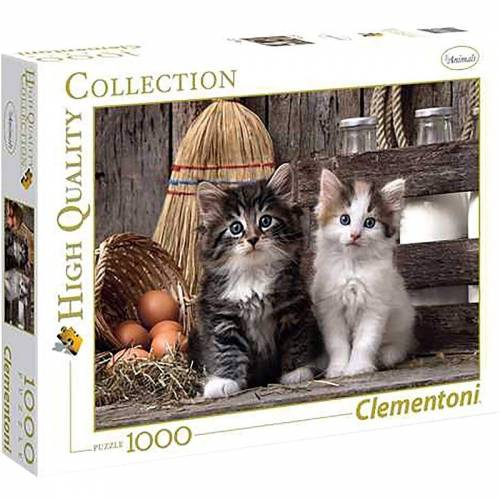 Clementoni® Puzzle »Clementoni - Lovely Kittens, 1000 Teile Puzzle«, 1000 Puzzleteile